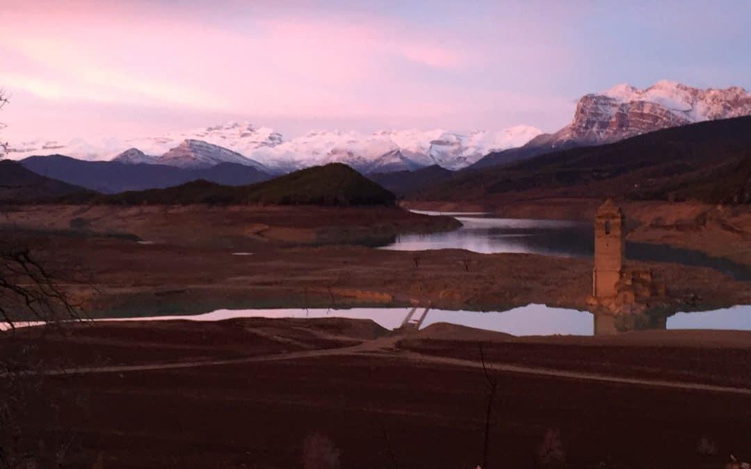 10. 01.18- El Pantano de Mediano se recupera tras las últimas lluvias